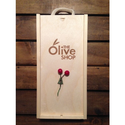The Olive Shop Gift Box (EVOOx250ml + BVx250ml)