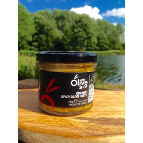 Organic Spicy Olive Paste - 100g