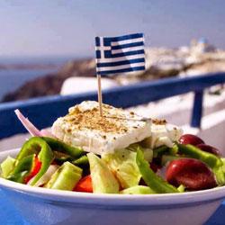 Uncle George's Greek Salad